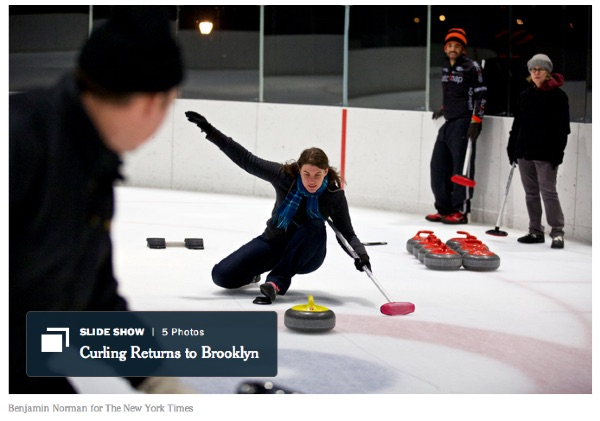 NYT - Curling in Brooklyn