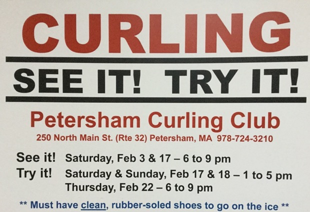 Try Curling at Petersham